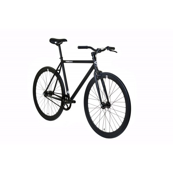FabricBike Fixed Gear Bike - Fully Matt Black-2807