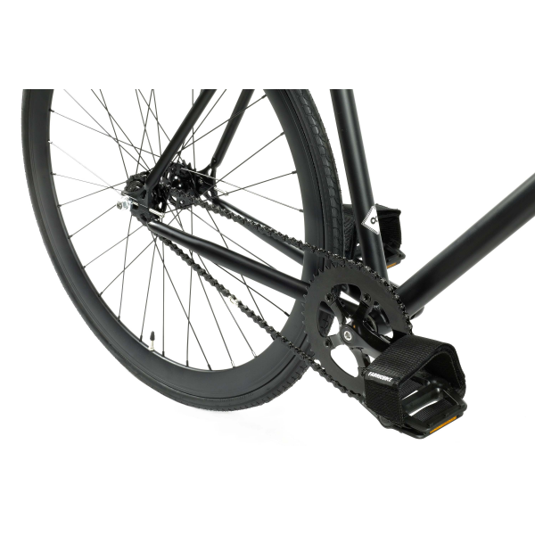 FabricBike Fixed Gear Bike - Fully Matt Black-2809