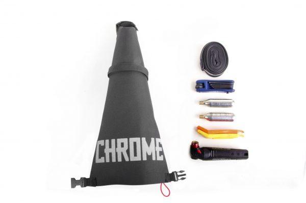 Chrome Industries Knurled Welder Gravel Seat Bag-4829