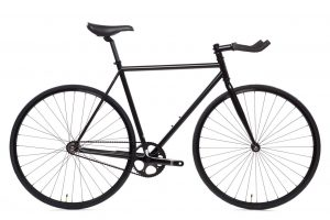 State Bicycle Fixie Fahrrad 4130 Core Line Matte Black 6-0