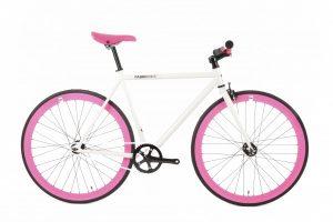 FabricBike Fixed Gear Fahrrad - Weib / Rosa-0