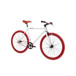 FabricBike Fixed Gear Bike – White / Red-2814