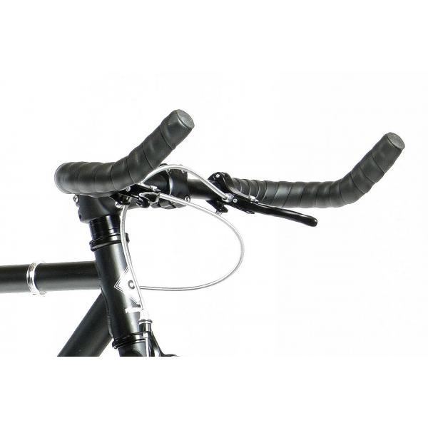 FabricBike Fixed Gear Bike - White / Red-2815