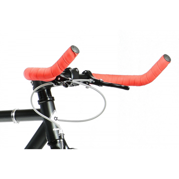 FabricBike Fixed Gear Bike - White / Red-2816
