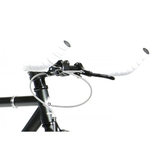 FabricBike Fixed Gear Bike - White / Red-2817