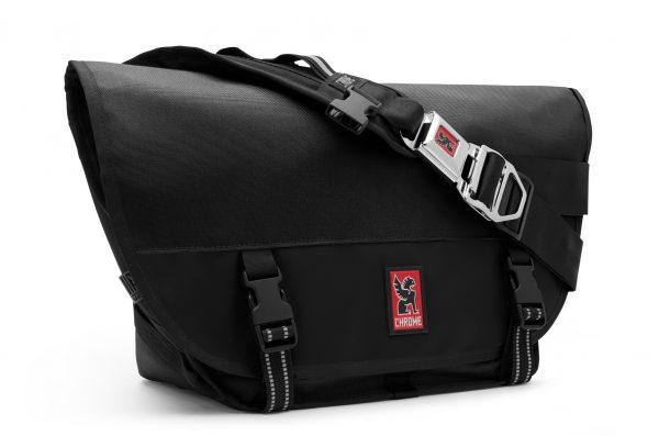 Chrome Industries Mini Metro Messenger Bag- Black/Black-0