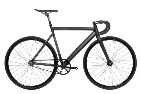 State Bicycle Co. Fixie Fahrrad Black Label V2 - Matte Schwarz-0