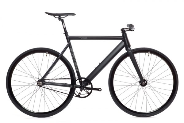 State Bicycle Co. Fixed Gear Bike Black Label V2 - Matte Black-5963