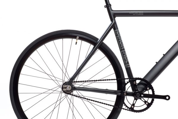 State Bicycle Co. Fixed Gear Bike Black Label V2 - Matte Black-5965