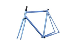 8bar Fhain Steel V1 Frameset-55.5 CM-blue-0