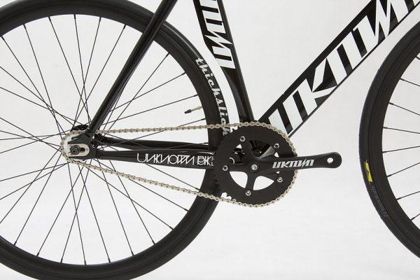 Unknown Bikes Fixed Gear Bike Singularity - Black-4123