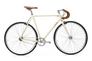Finna Fixed Gear Bike Velodrome Vanilla Cream-0