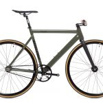 State Bicycle Co Fixed Gear Black Label v2 - Army Green-0