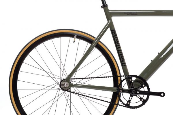 State Bicycle Co Fixed Gear Black Label v2 - Army Green-5937