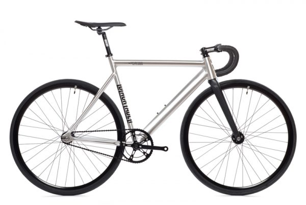 State Bicycle Co Fixed Gear Bike Black Label v2 - Raw Aluminum-6551