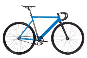 State Bicycle Co Black Label v2 Fixie Fahrrad - Typhoon Blau-0