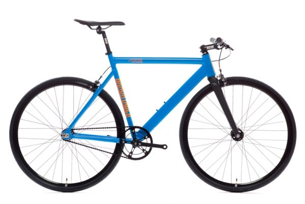 State Bicycle Co Black Label v2 Fixed Gear Bike - Typhoon Blue-6566