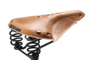 Brooks Flyer Select Sattel - Organisches Leder-0
