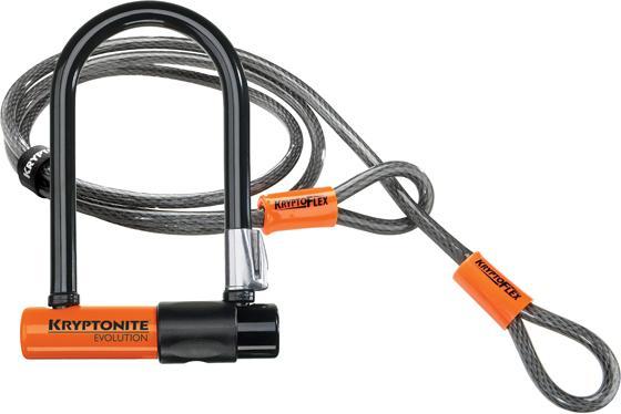 Kryptonite Evolution Mini 7 U Lock + Kabel 120CM-0