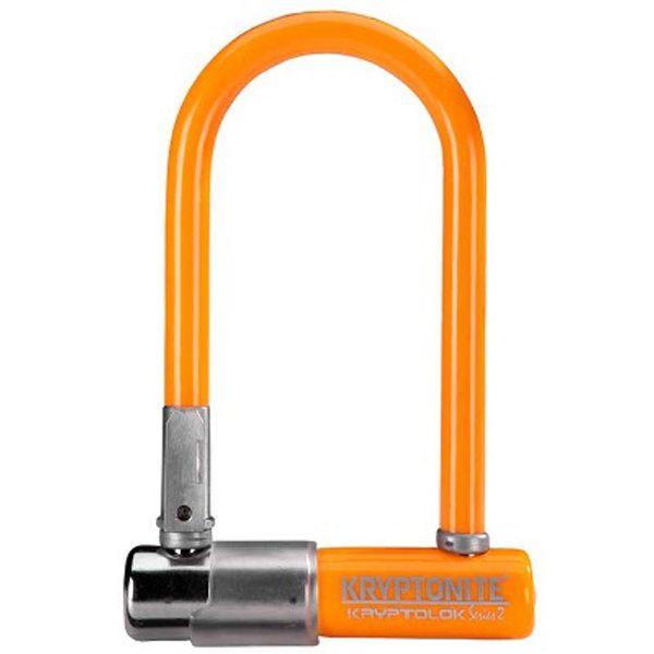 Kryptonite Kryptolok2 Beugelslot Mini7 - Orange-0