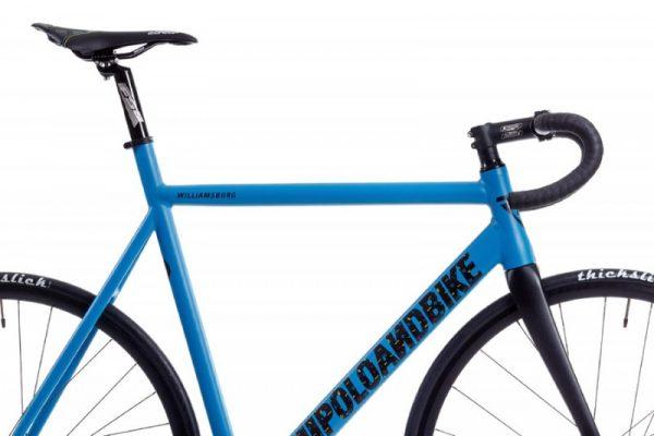 Poloandbike Williamsburg Fixed Gear Bicycle Blue-6168