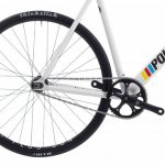 Poloandbike Williamsburg Fixed Gear Bicycle White-6166
