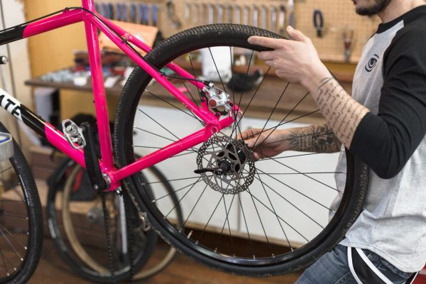 State Bicycle Co Thunderbird Singlespeed Cyclocross Bicycle Pink-6207