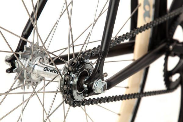 Quella Fixed Gear Bike Nero - Cream-6998
