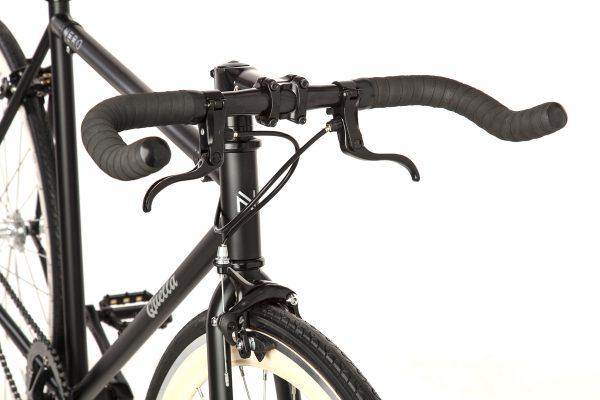 Quella Fixed Gear Bike Nero - Cream-6999