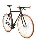 Quella Fixed Gear Bike Nero – Cappuccino-7011