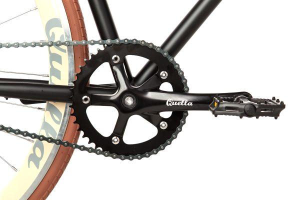 Quella Fixed Gear Bike Nero - Cappuccino-7012