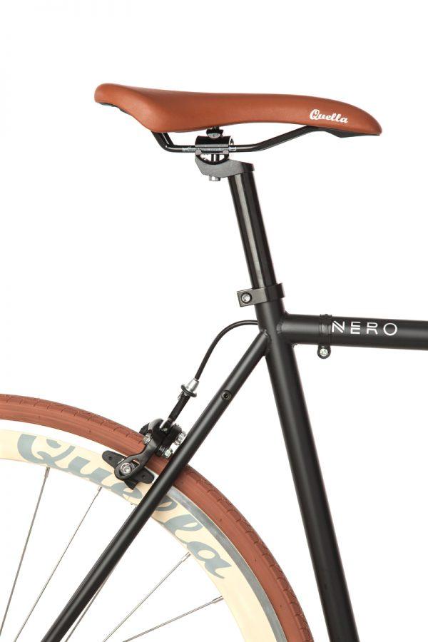 Quella Fixed Gear Bike Nero - Cappuccino-7013