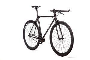 Quella Fixed Gear Bike Nero - Black-6951