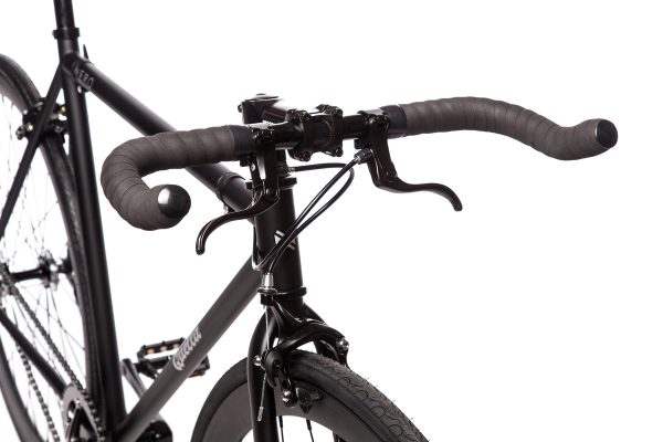 Quella Fixed Gear Bike Nero - Black-6952