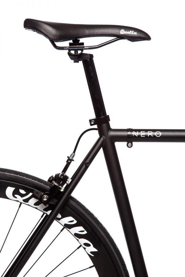 Quella Fixed Gear Bike Nero - Black-6954