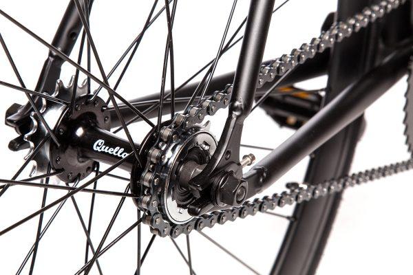 Quella Fixed Gear Bike Nero - Black-6955