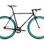 Quella Fixed Gear Faharrd Nero - Turquoise-0