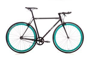 Quella Fixed Gear Faharrd Nero - Turquoise-0