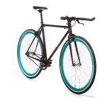 Quella Fixed Gear Bike Nero – Turquoise-7024