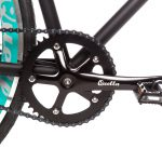 Quella Fixed Gear Bike Nero – Turquoise-7025