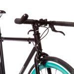 Quella Fixed Gear Bike Nero – Turquoise-7029