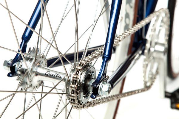 Quella Fixed Gear Bike Premium Varsity Collection - Oxford-7054
