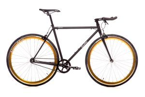 Quella Fixed Gear Faharrd Nero - Gold-0