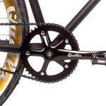 Quella Fixed Gear Bike Nero – Gold-6969