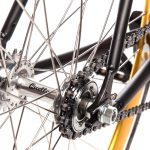 Quella Fixed Gear Bike Nero – Gold-6970