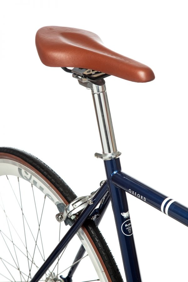 Quella Fixed Gear Bike Premium Varsity Collection - Oxford-7056