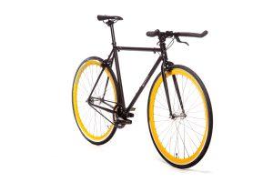 Quella Fixed Gear Bike Nero - Yellow-7001