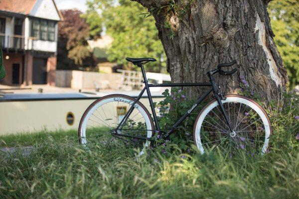 Quella Fixed Gear Bike Nero - White-6982