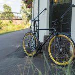 Quella Fixed Gear Bike Nero – Gold-6972