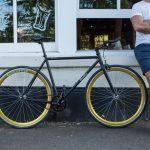 Quella Fixed Gear Bike Nero – Gold-6973